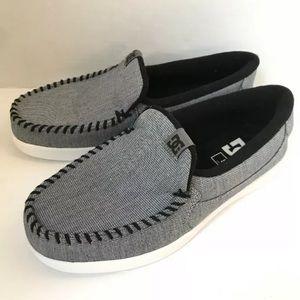DC Villain TC SE Casual Shoes Grey Mens Size 8 M